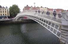 Taking a walk from McDonald's Ha'penny Bridge to St Coca-Cola's Green?