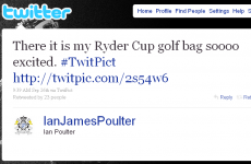 'Ryder Cup 2010' will exceed 140 characters, apparently
