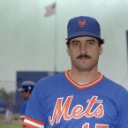 Moustache Style: Disco  One of the best first basemen in baseball, 'Mex' was part of the feral New York Mets that won an unlikely World Series in 1986. He and the moustache later appeared in Seinfeld, fact fans, as the 'second spitter' in the superb pastiche of Oliver Stone's JFK.<span class=