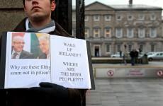 You wait so long for a public protest…