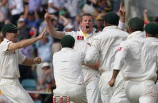 First blood to Aussies in The Ashes