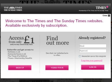 media times paywall readership