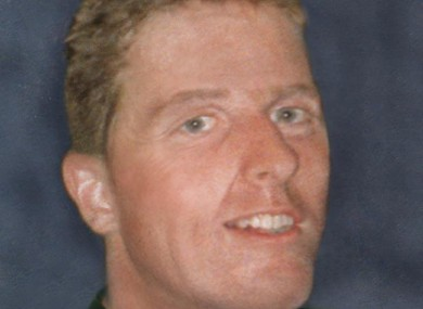 An age-enhanced photograph of Trevor Deely showing what he would look like now, at the age of 32.