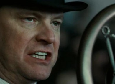 Screengrab of Colin Firth in The King's Speech