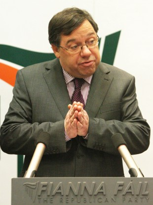 Brian Cowen was leading a meeting of the Cabinet this morning ahead of this evening's vote on his leadership of Fianna Fáil.