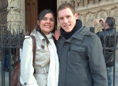 Michaela and John McAreavey on holiday in Paris before her tragic death