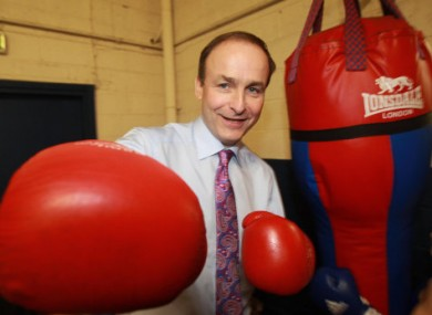 Micheál Martin will hope to come out fighting when his party unveils its plans for political reform later today.