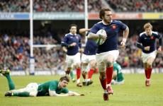 Six Nations: Medard to miss crucial Twickenham clash