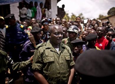 Lt. Col. Mutuare Daniel Kibibi following his conviction
