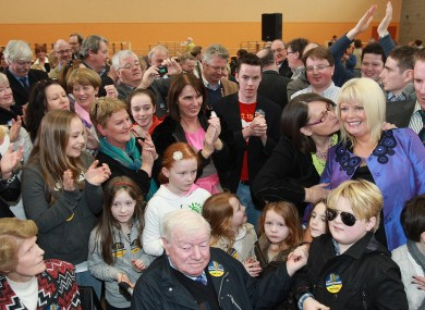 Mary Mitchell-O'Connor elected for Fine Gael in Dún Laoghaire earlier  today