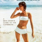 The first Sports Illustrated swimsuit edition debuted on Jan 20, 1964, as a five-page supplement. It was designed by then-editor, Andre Laguerre to increase readership during the winter lull between popular sports seasons. The premier cover featured Babette March in a white two-piece.