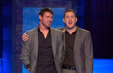 Ladies' man? Dublin footballer Eamon Fennell tries his luck on Take Me Out