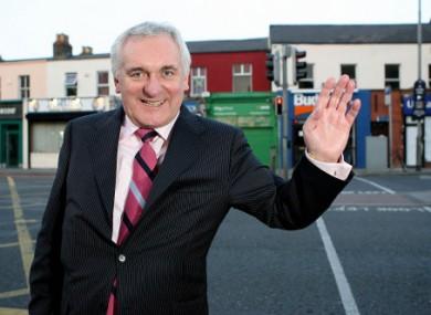 Former Taoiseach Bertie Ahern.
