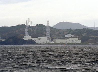 Onagawa nuclear plant