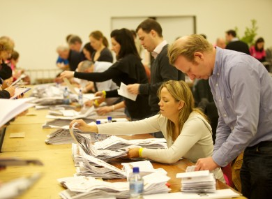 The Galway West count was the last to conclude, with other constituencies finishing their counts by 6am yesterdya.