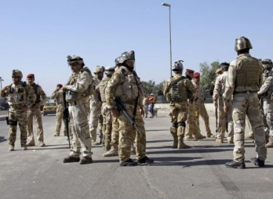 File photo of Iraqi security forces.