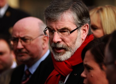 Sinn Féin's Gerry Adams is among those to criticise the programme for government