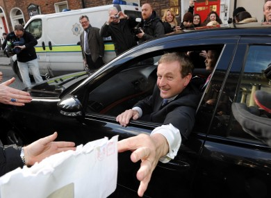 Just three of the current cabinet - Enda Kenny, Eamon Gilmore, and Alan Shatter - will have state-supplied cars from May 1 onward.