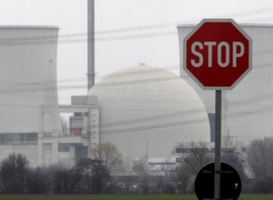 File photo of the nuclear power plant in Biblis, Germany.