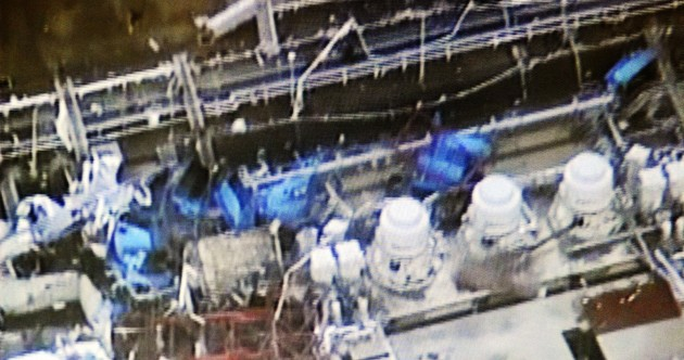 Three Fukushima workers hospitalised with skin lesions