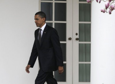 Obama tries another door to the Oval Office in Washington DC.