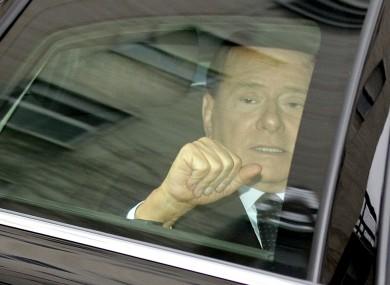 Silvio Berlusconi on Monday