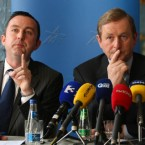 Brian Hayes, seen here with party leader Enda Kenny, has been Fine Gael's education spokesperson and is a former secondary teacher. A TD for Dublin South West, he was a sentor from 2002 to 2007. He says one of his favourite books is The Third Man by Peter Mandelson.