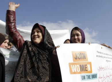 Afghan women celebrate IWD in Kabul