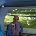 Tom McGurk tweeted this pic of the RTÉ studio. It cracks me up. <span class=