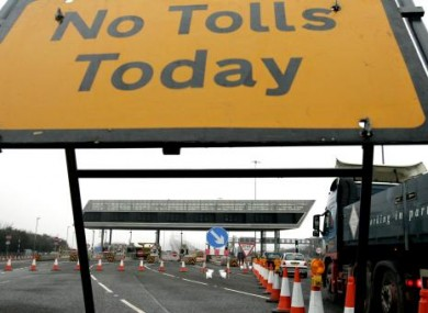 We wish... BUT the M1 road toll will be a little less expensive from midnight.
