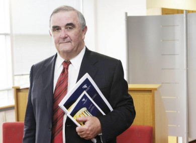 Chief Justice John L Murray.