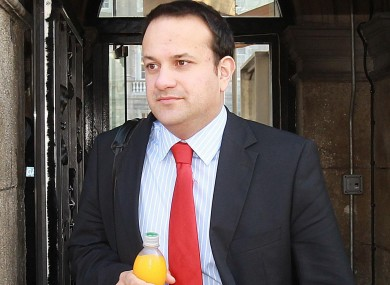 Leo Varadkar a doctor and a TD who is both the most trusted and least trusted according to a new poll.
