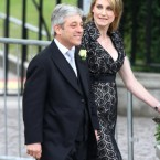 John Bercow, Speaker of the House of Commons and his wife Sally.