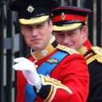 Princes William and Harry wear all their braiding at once.
