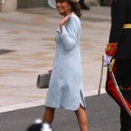 Carole Middleton dials it down for her daughter's wedding.