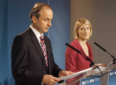 Averil Power (right) will be one of at least two Fianna Fáil women to win election to the Seanad.