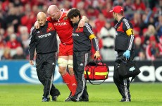 O'Connell set to miss most of Munster's run-in