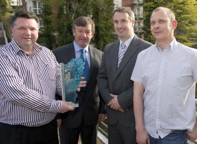 L to r: Dr. Scott Monaghan, Dr. Michael Murphy, Declan Soden and Dr. Ian Povey
