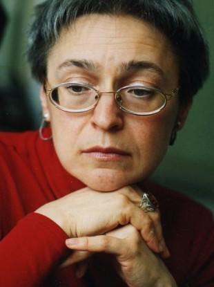 File photo of murdered investigative journalist Anna Politkovskaya.