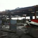 A photo of the damage in Albany, via @itsemmatheninja on Twitter