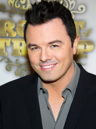 Seth MacFarlane, who will produce the new Flintstones series for Fox.