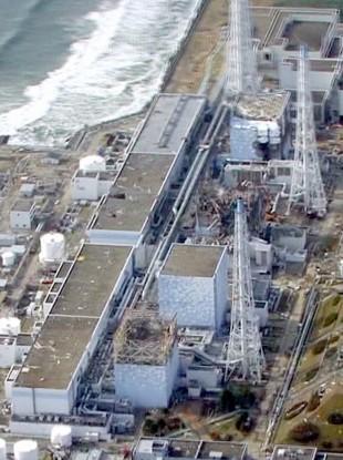 The Fukushima plant on 26 April