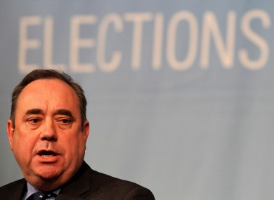 Scottish First Minister Alex Salmond had a good night in the elections.