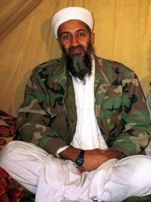 Undate file photo of the late Osama bin Laden.
