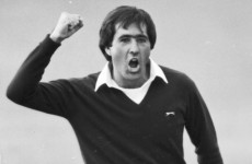 In the swing: Thank you, Seve