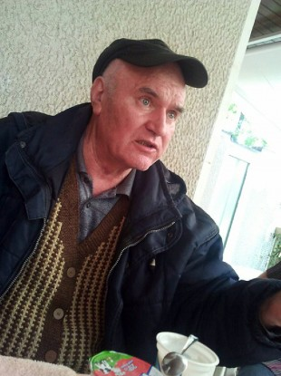 Ratko Mladic as he appears now following his arrest this week.