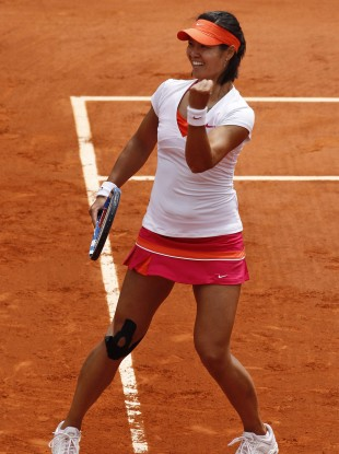 Li Na marched on earlier today.