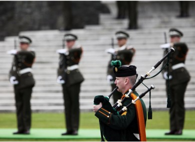 The total costs of the Defence Forces' operations for the visits of Queen Elizabeth and Barack Obama are €1.73m, Alan Shatter has said.