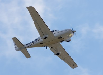 A Cirrus SR22, similar to that involved in a safety scare when its pilot became ill mid-flight.