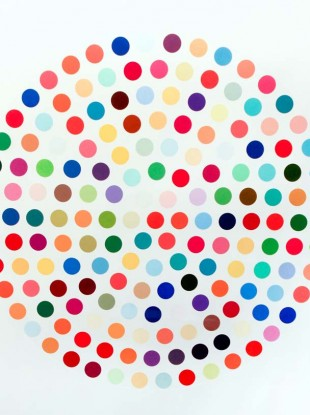 Damien Hirst's Cephalothin has a €6,000-€8,000 guide price on it for this evening's art auction in Cork